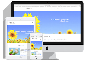 screenshot of brilliantcleaning.com.au