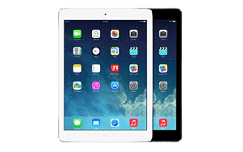 An iPad Air