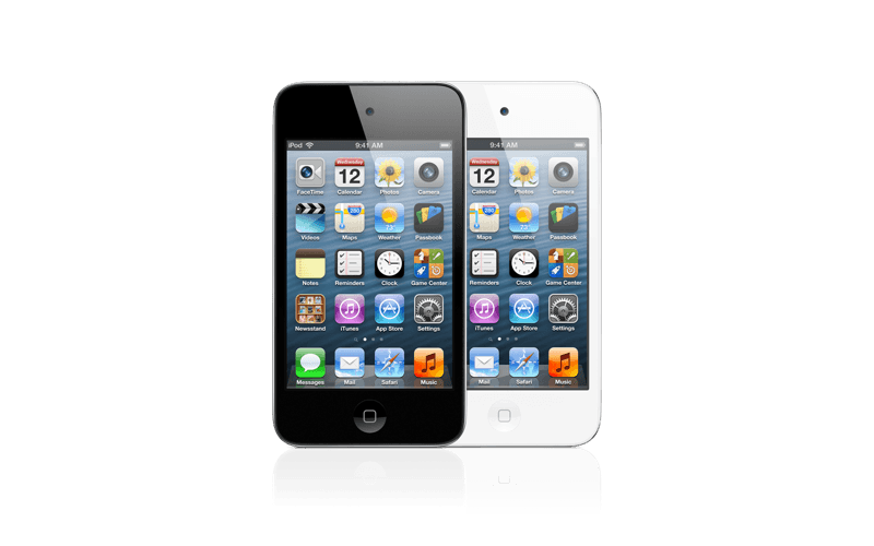 An iPod touch 4