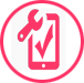Phone and tablet repair icon